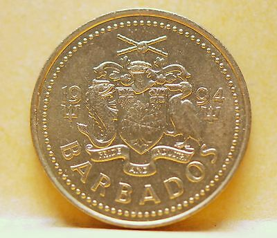 Barbados, 1994 5 Cents, Uncirculated, No Reserve,                          x29gm