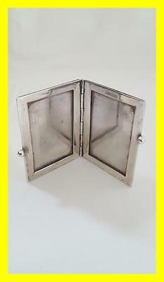 Miniature Silver Travel Photograph Frame,german 800 Grade,nice Condition