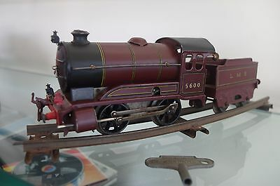 model train 0 scale  Hornby 1958 catalogue number 51  passenger train
