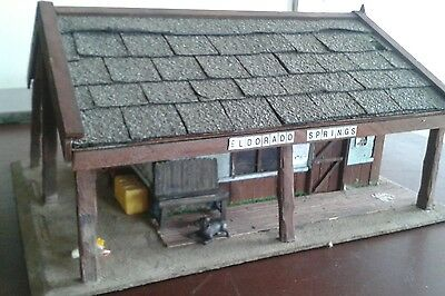 G Scale Wild West Station Or Ranch...  Scratch Built