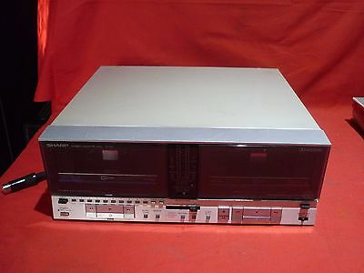 Vintage Sharp Rt-207X Cassette Tape Recorder Untested For Repair Yatala 4207