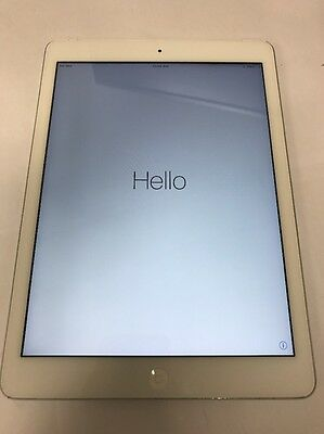 Apple iPad Air 1st Generation 16GB, Wi-Fi + 4G, 9.7in - Silver Tablet