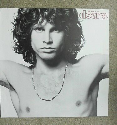 THE DOORS  promotional poster for THE BEST OF THE DOORS