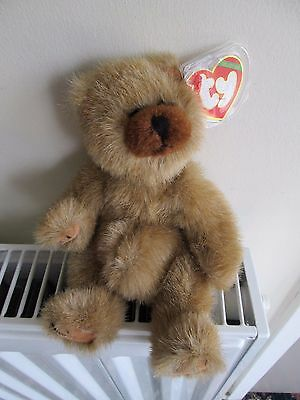 CODY 4th gen TY ATTIC TREASURE BEAR, Pot Bellied, Retired Collectable. So Cute !