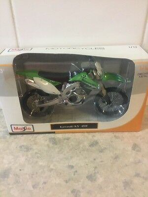 Maisto 1/12 Kawasaki KX 450F New In Box