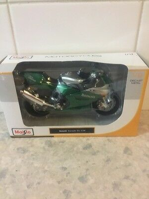 Maisto 1/12 Die Cast Benelli Tornado Tre 1130 New In Box