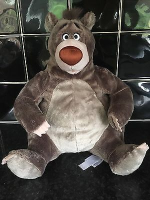 Disney Store Baloo Jungle Book Soft Toy