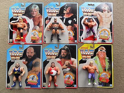 Wwf Hasbro Wrestling Figures With Backing Cards