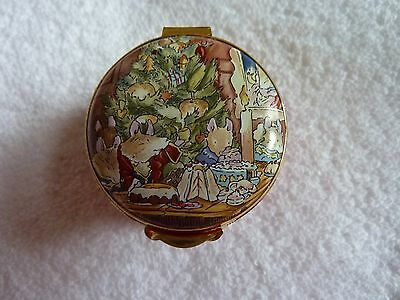 Crummles Brambly Hedge Midwinters Eve Enamel Box