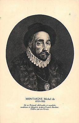 BF41051 montaigne michel philosophe et moraliste  Famous People World leaders