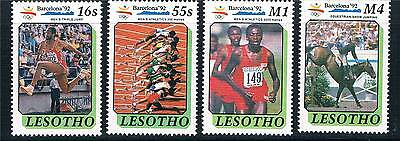 Lesotho 1990 Olympic Games SG 984/7 MNH
