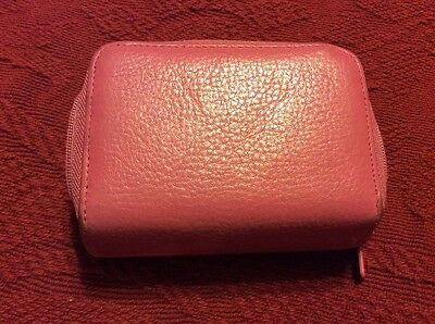Buxton Accordion Leather Credit Card -  ID Holder/Case/Change Purse/Wallet
