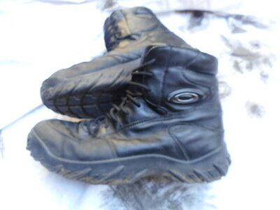 GENUINE OAKLEY SI COMBAT ASSAULT BOOTS black UK 11 SAS SEAL TEAM DEVGRU POLICE
