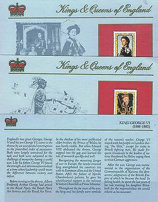 Grenada 1984 Presentation Cards British Monarchs 42 V  SG 1287-1328  MNH