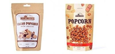 EAST BALI CAHEWS Cacao Popcorn With Cashews (2 Sizes) Gluten Free ,Vegan