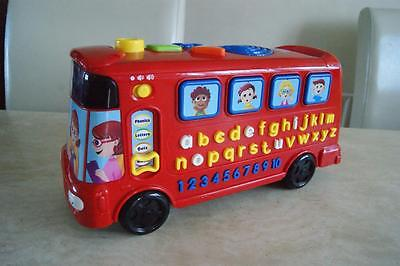 VTECH PLAYTIME BUS WITH PHONICS learning educational musical toy