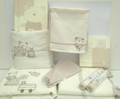 Mamas & Papas Bed Time Hugs Baby Nursery Set Curtains Bedding Pictures Plus More