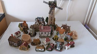 Miniature Houses/Ornaments - over 20