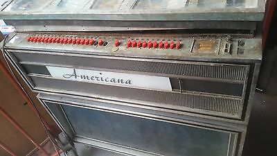 alte Wurlitzer Musikbox Jukebox americana not working