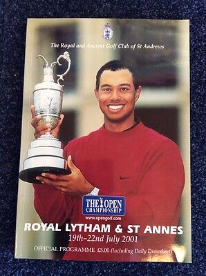 Official Golf Programme Royal Latham & St Annes - 19-22 July 2001