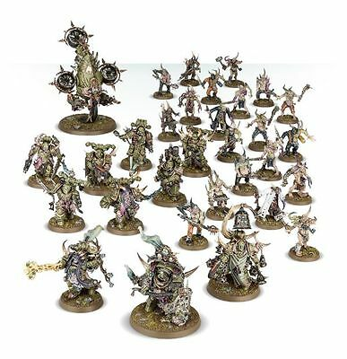 Nurgle Death Guard army for Warhammer 40K with supplement