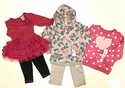 Baby Girls Clothing New 5 pc lot size 24 Months (Jumping Beans/Youngland)