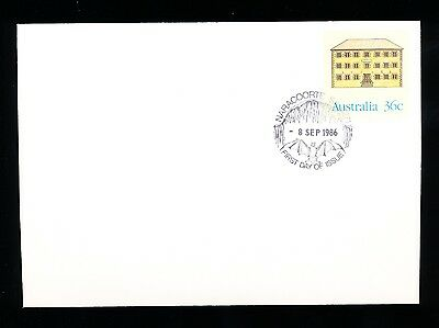 7 Prestamped Envelopes Historic Buildings stamped first day of Issue