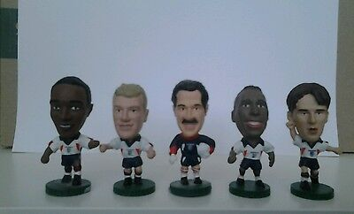 5 England international Corinthian football figures