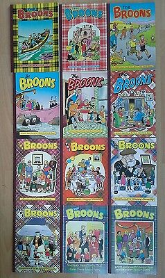 Collection The Broons Annuals 1983-2005