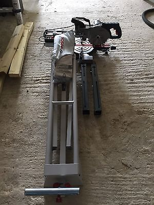 Bosch Gcm 800 Sj Mitre Saw With Stand , Used One Basically New