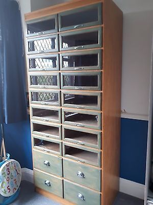 Vintage Haberdashery Unit 20 Drawers