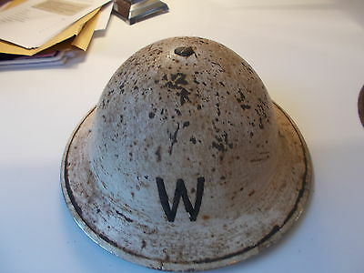 WW2 British Helmet 1939 Home Front RoCo Early Original As Found