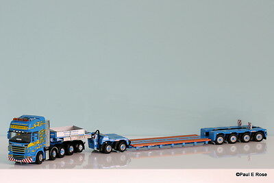 WSI Martin Wittwer AG Scania 8x4+1 with 2+4 Nooteboom trailer