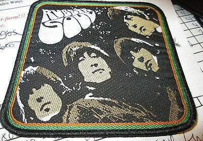 Beatles Collectable Rare Patch English Woven  Metal