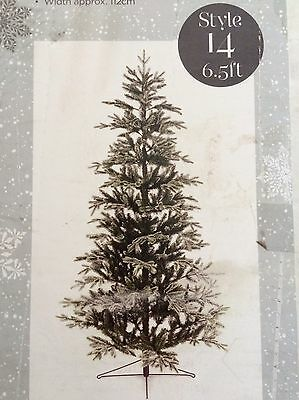 6 1/2ft House Of Fraser Natural  Snow Tip Tree RRP £190.00 Our Price £79.99
