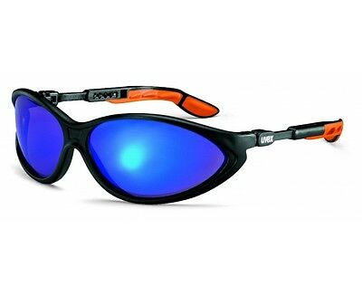 UVEX Cybric BLUE MIRROR Super VISION Sports Cycling Sunglasses Safety Glasses