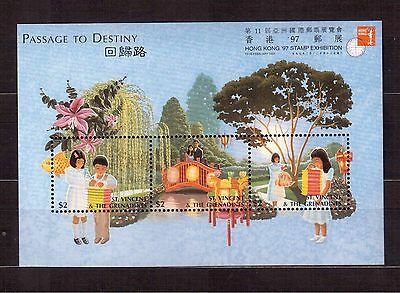 St.vincent & Grenadines 1997 #2384 S/s Mint Nh, Buddhist Religious Ceremony !!