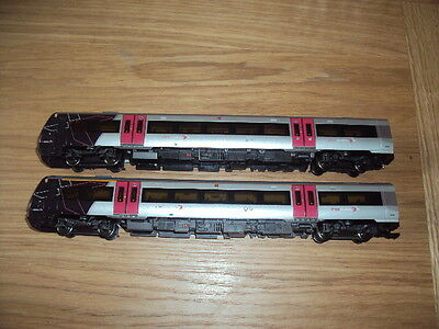 bachmann oo gauge class 221 cross country trailing coaches direction trail light