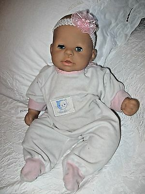 "Zapf Creation Baby Doll18"" -Cloth body Vinyl Limbs and Face- Pacifier"