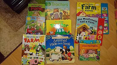 Baby / toddler books - BIG bundle - total of 9 sets and - 66 books!!!