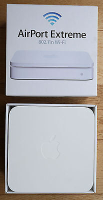 Apple AirPort Extreme 5th gen A1408 -- MD031B/A UK version -- perfect