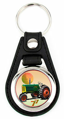 Oliver Model 77 Tricycle Richard Browne Artwork Keychain Key Fob -