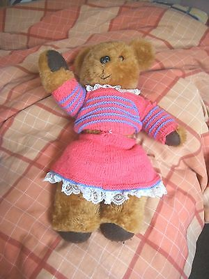 Teddy Bear Vintage Very Cute Moving Limbs Collectable Item