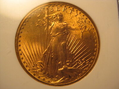 1922 Gold $20.00 Double Eagle graded MS-63 by NGC