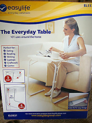 New Boxed Unused Easylife Everyday Table