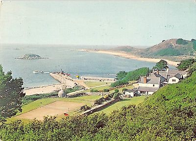 BR77802 the white house hotel and harbour herm c i    uk