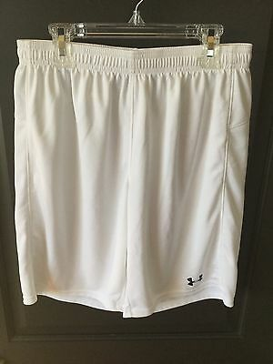 Under Armour Youth XL White Athletic Shorts