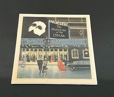 The Phantom Of The Opera hot plate Majestic Theater New York Broadway show