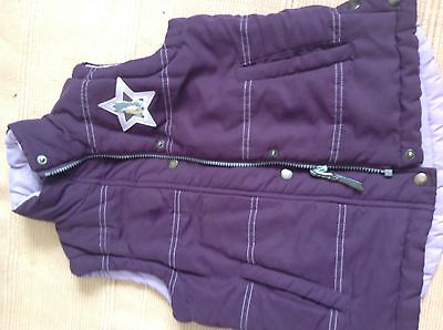 Girls reversible gillet hose riding size Hoursewere 6-8 yr