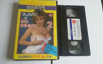 ELECTRIC BLUE 2  - EX RENTAL  VIDEO  Rare vhs Big box